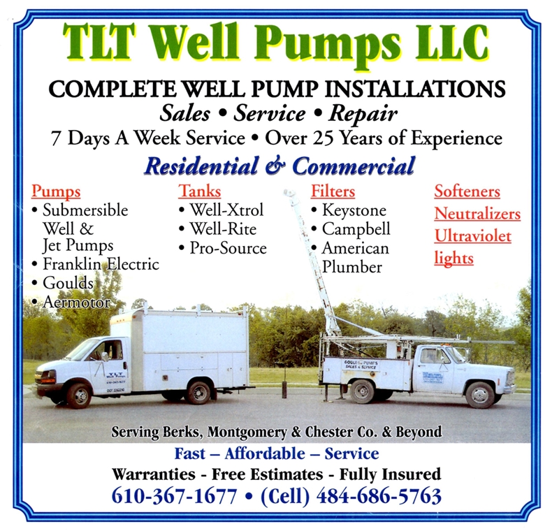 TLT Well Pumps in Pottstown Mercury
